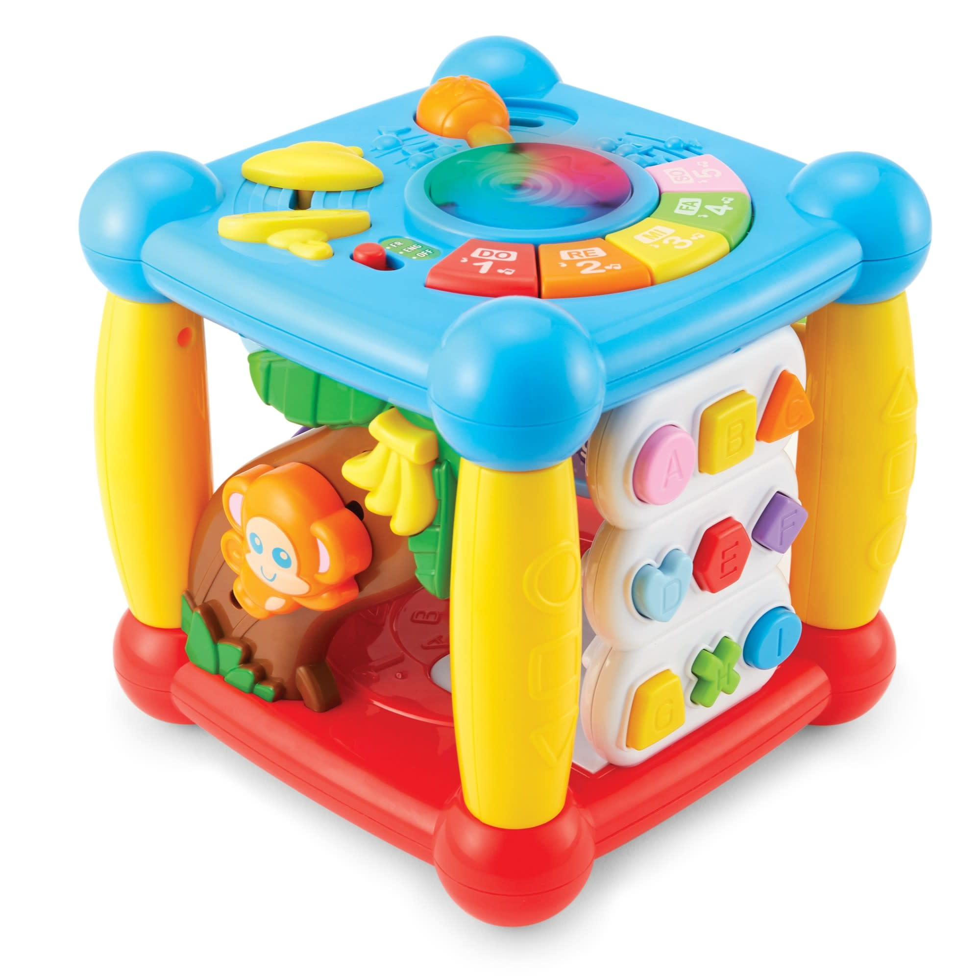 Lights 'n Sounds Activity Cube by Kidoozie