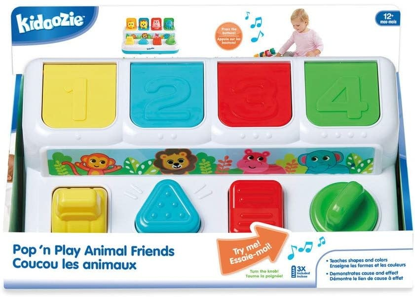 Pop and Play Animal Friends by Kidoozie