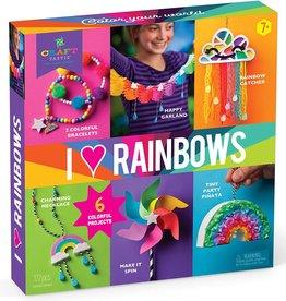 I Love Rainbows Kit by Craft-tastic