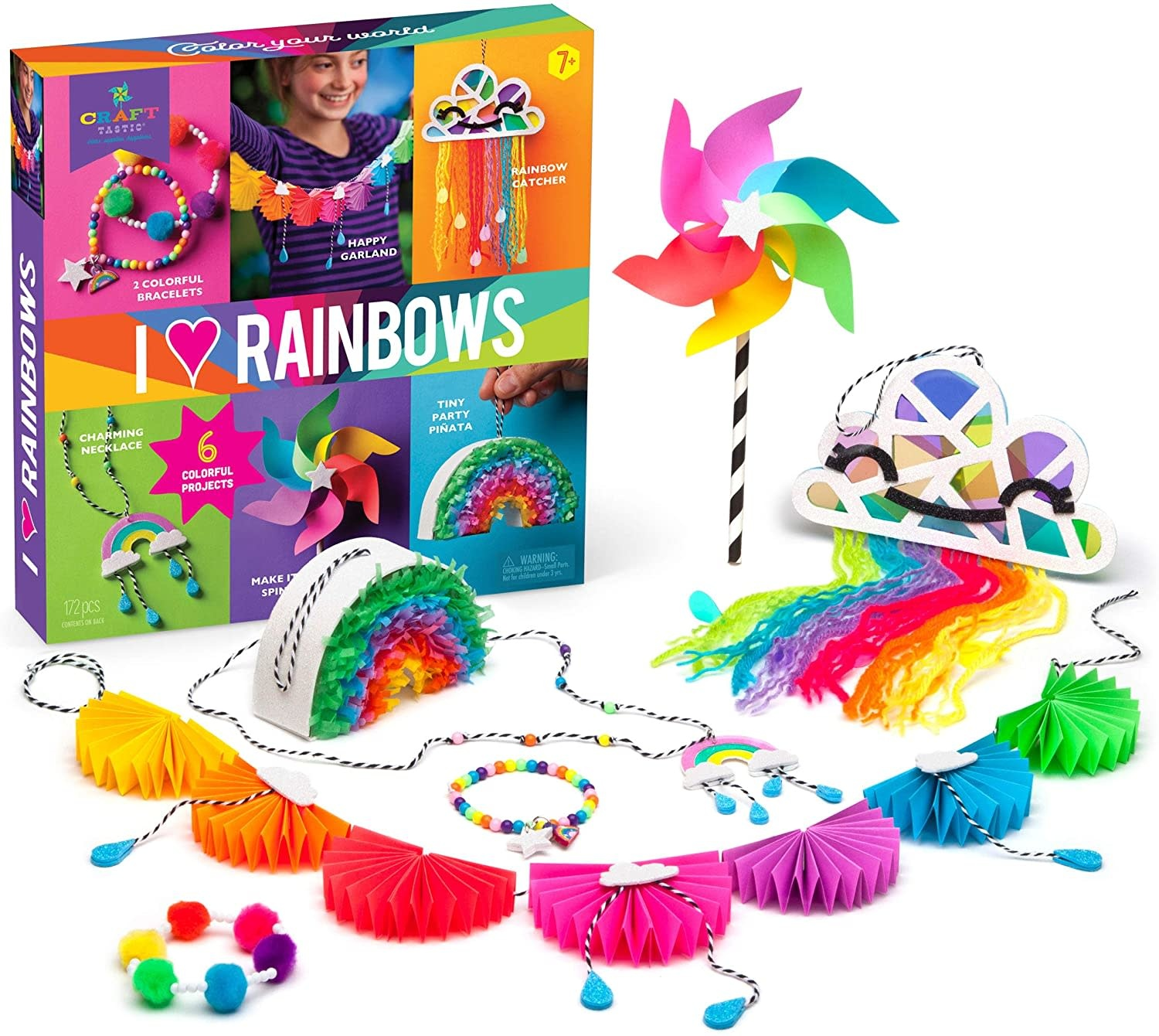 I Love Rainbows Kit by Craft-tastic