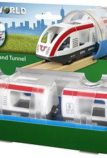 Travel Train & Tunnel by BRIO