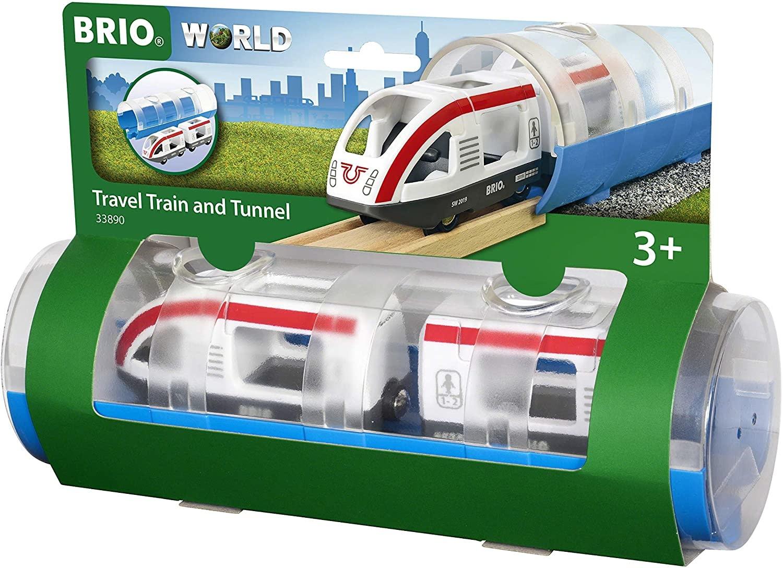 Brio Travel Train & Tunnel by BRIO