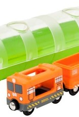 Brio Cargo Train & Tunnel by BRIO