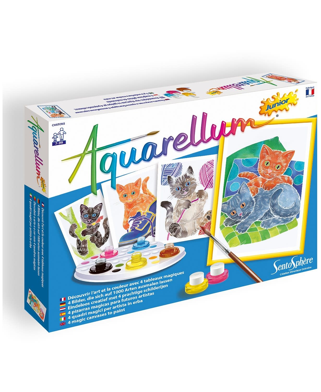 Aquarellum Jr Kittens Paint Set by Sentosphere