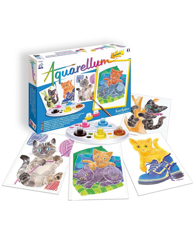 Aquarellum Junior Kittens Paint Set by Sentosphere
