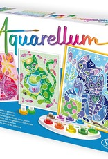 Aquarellum Cats Large Painting Set by Sentosphere