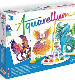 Aquarellum Mythical Animals Large Painting Set by Sentosphere