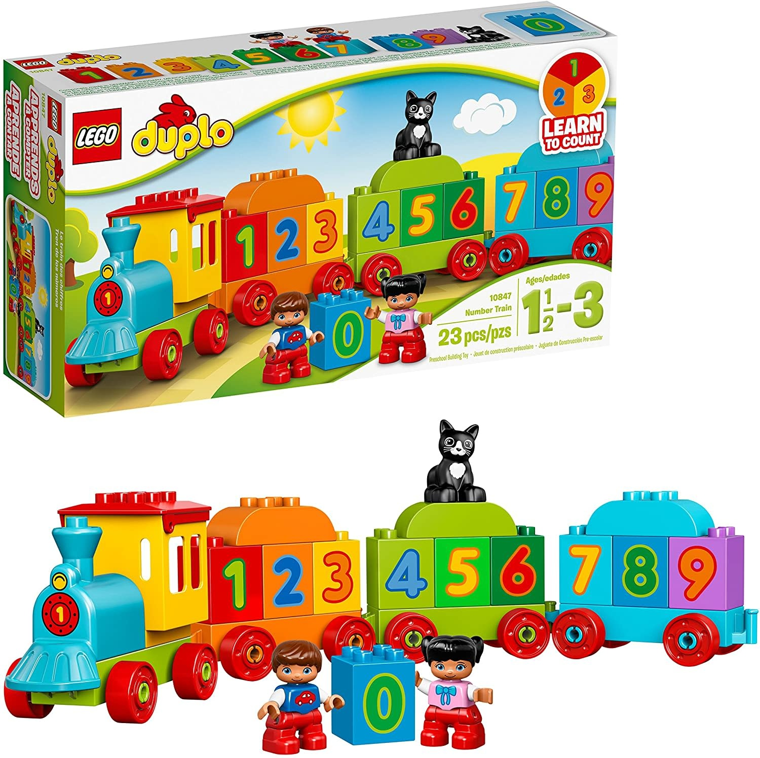 10847 Number Train by LEGO Duplo
