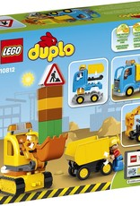 10812 Truck & Tracked Excavator by LEGO Duplo