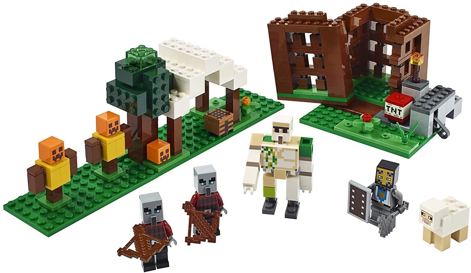 21159 The Pillager Outpost by LEGO Minecraft