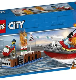 60213 Dock Side Fire by LEGO City