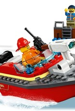 60213 Dock Side Fire by LEGO City
