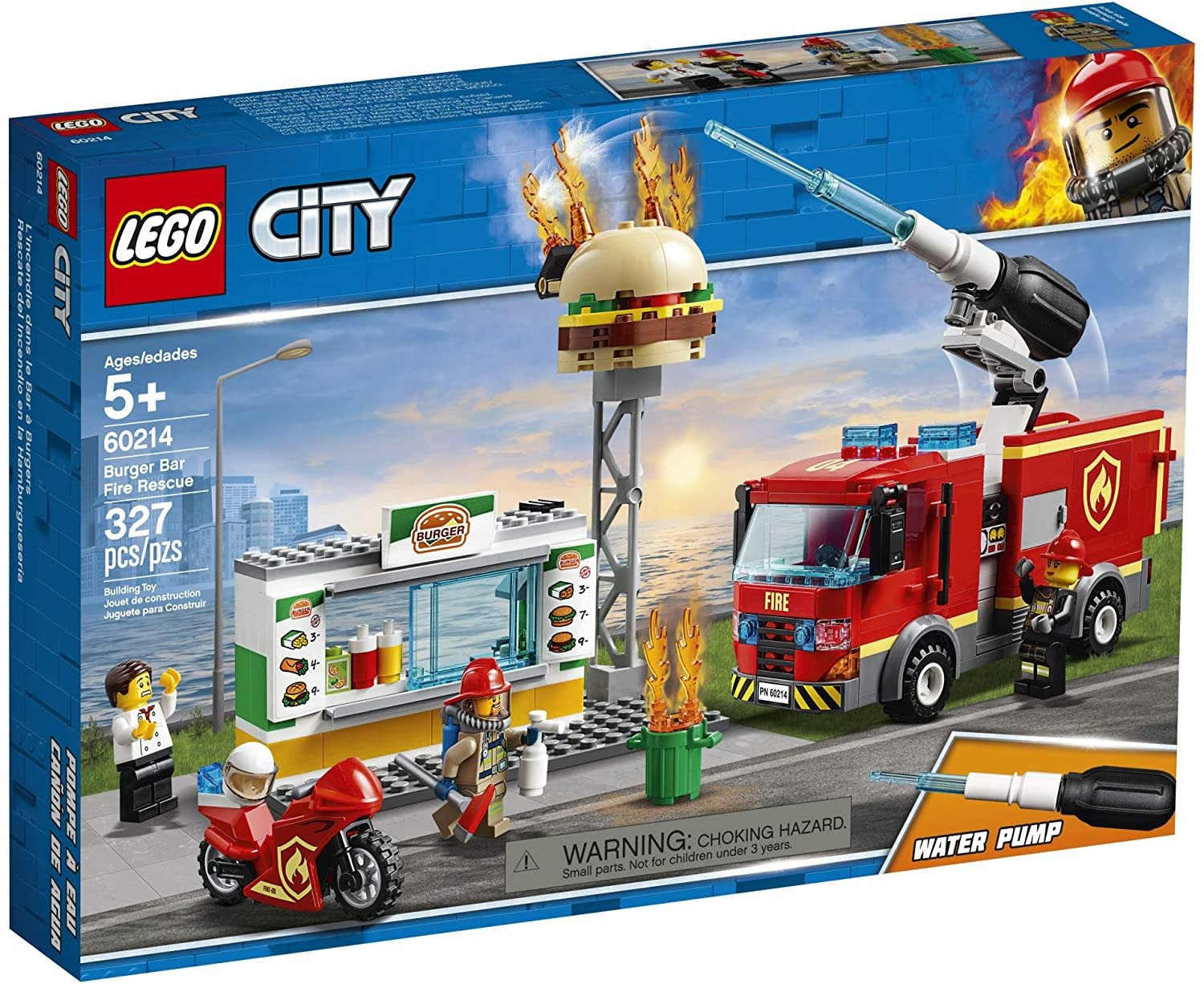60214 Burger Bar Fire Rescue by LEGO City