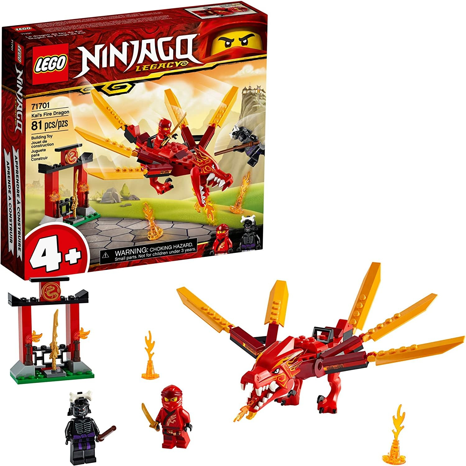 71701 Kai's Fire Dragon by LEGO Ninjago