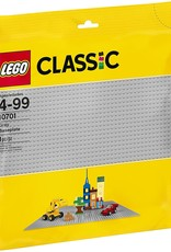 10701 Gray Baseplate by LEGO Classic