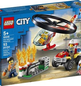 60248 Fire Helicopter Response by LEGO City