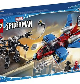 76150 Spiderjet vs Venom Mech  by LEGO Marvel Spider-Man