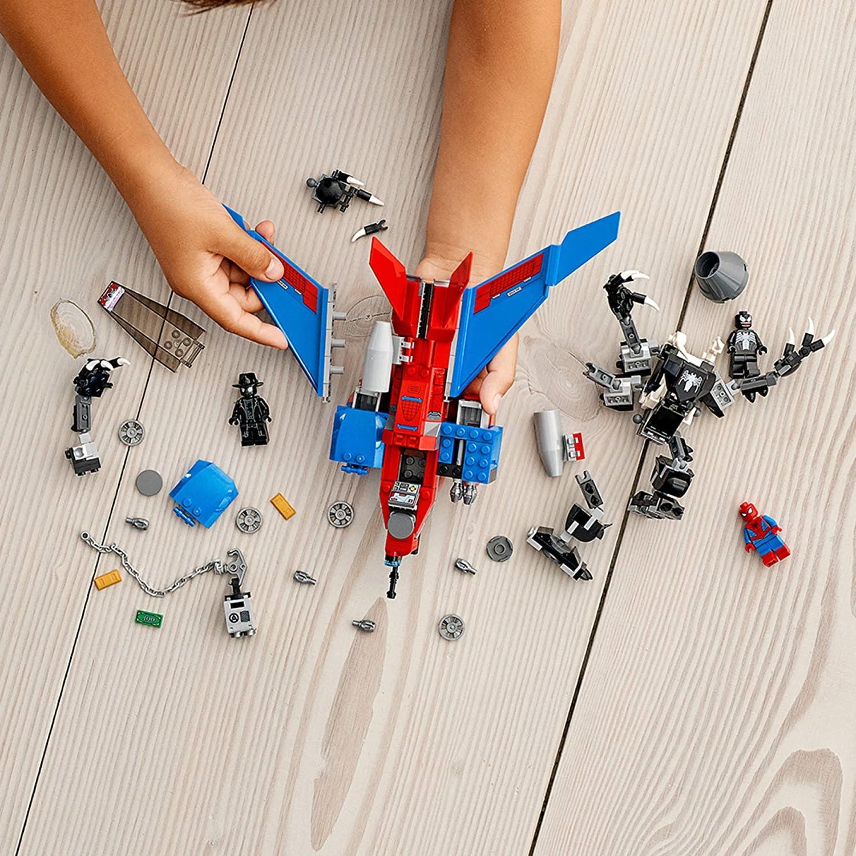 76150 Spiderjet vs Venom Mech by LEGO Marvel Spider-Man