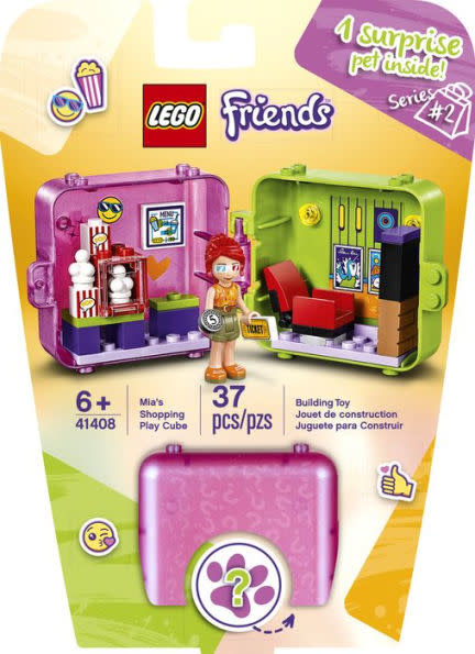 41408 Mia's Shopping Play Cube by LEGO Friends