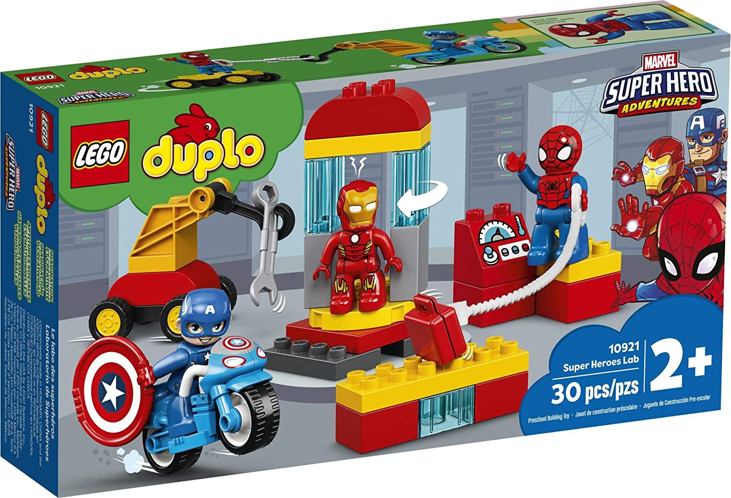 10921 Super Heroes Lab by LEGO Duplo