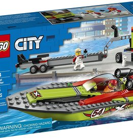 60254 Race Boat Transporter by LEGO City