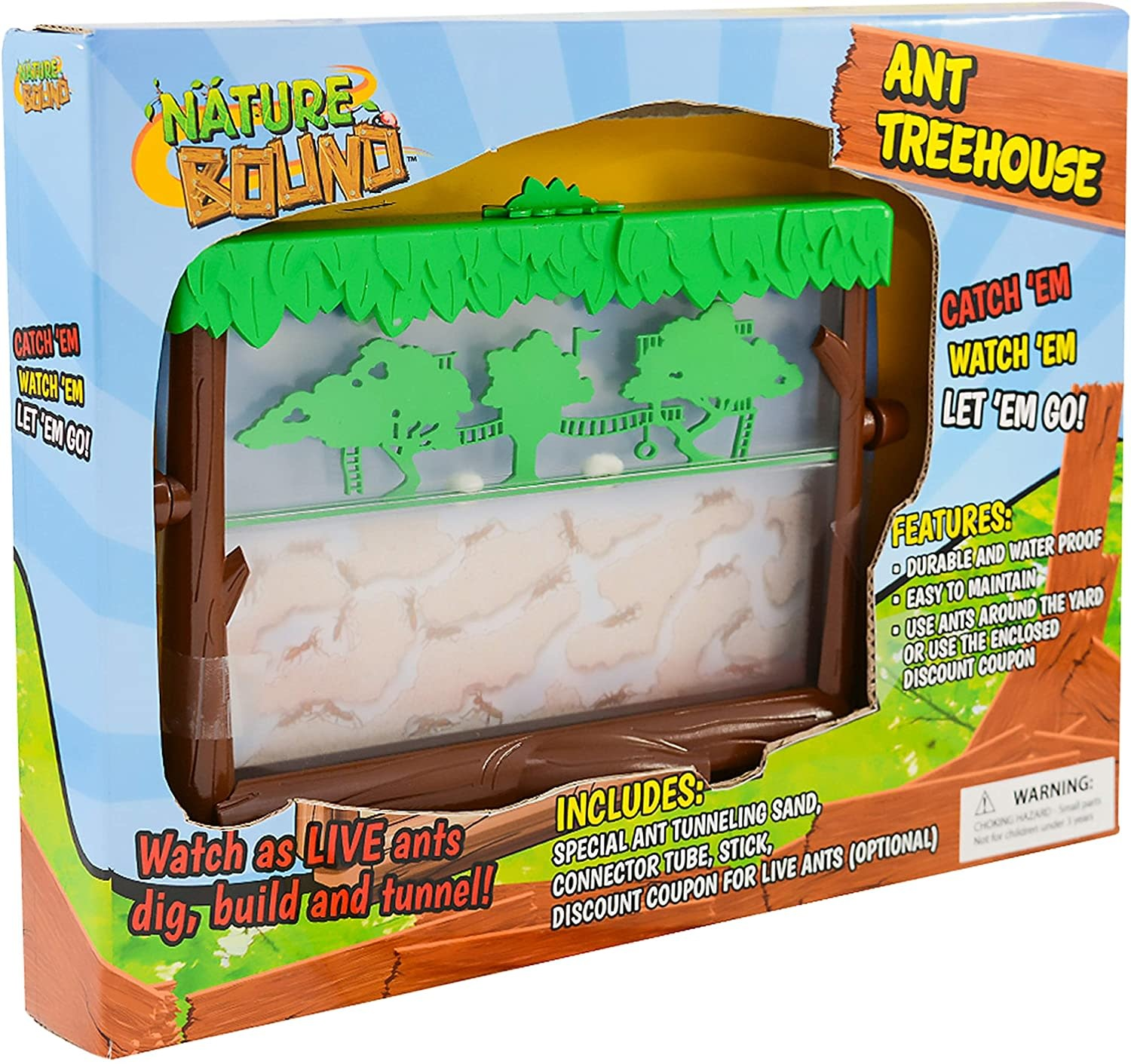 Ant Treehouse by Nature Bound
