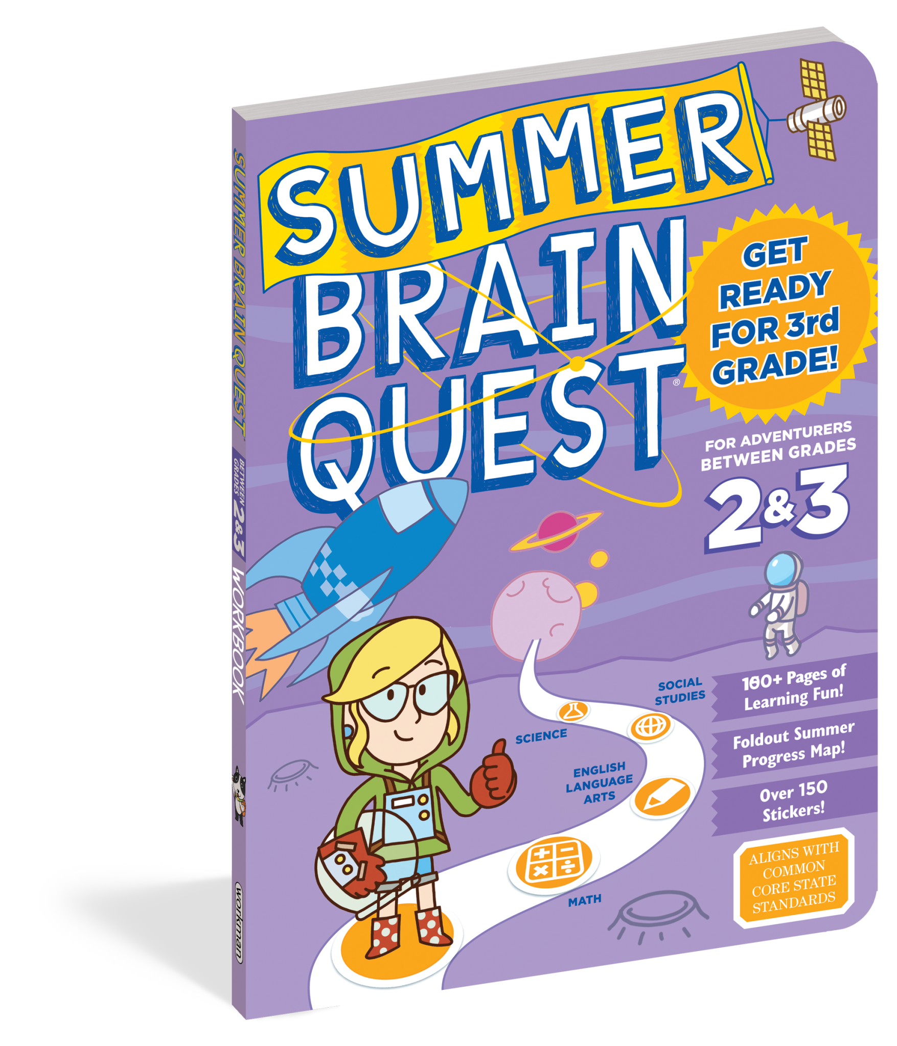 Summer Brain Quest  Grades 2 & 3