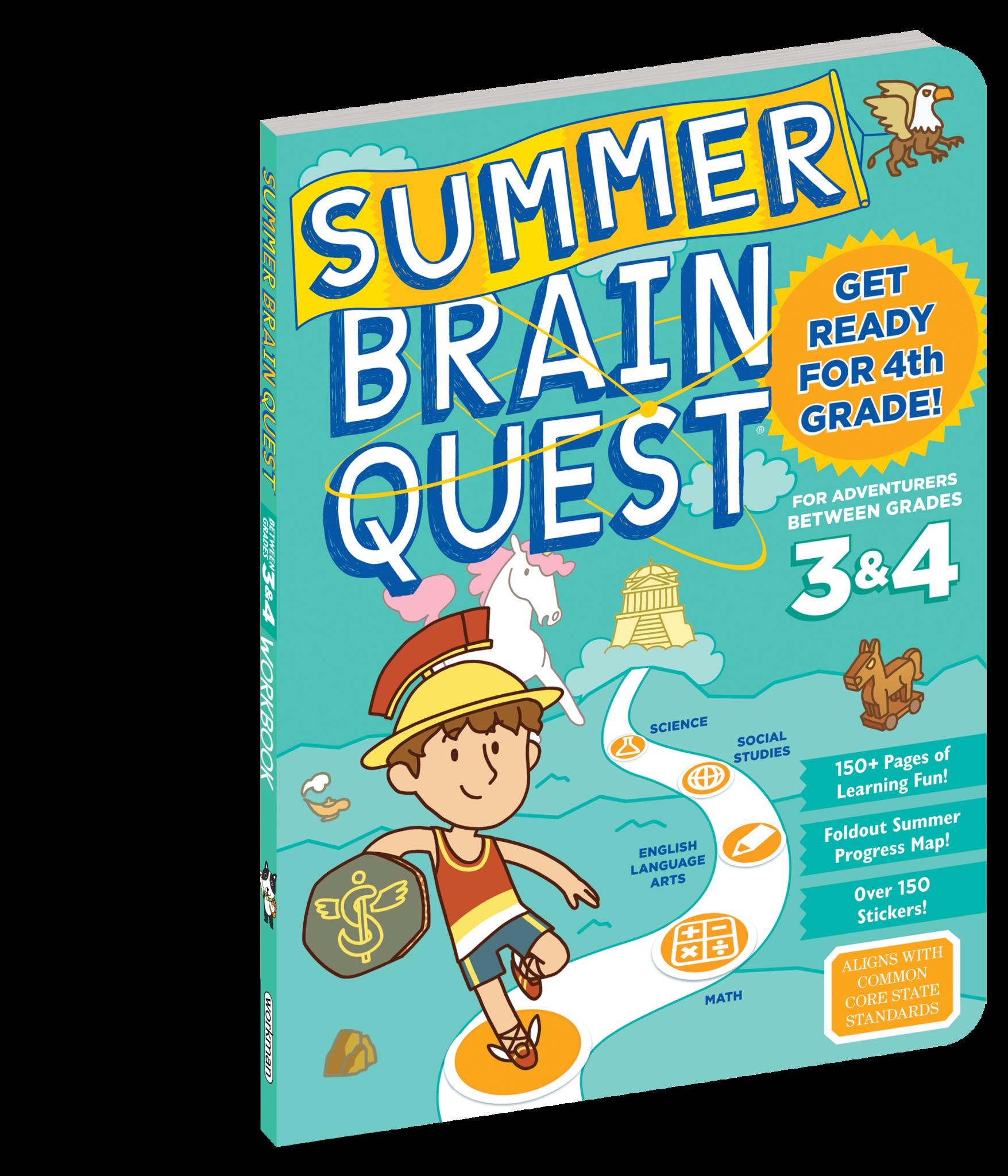 Summer Brain Quest Grades 3 & 4