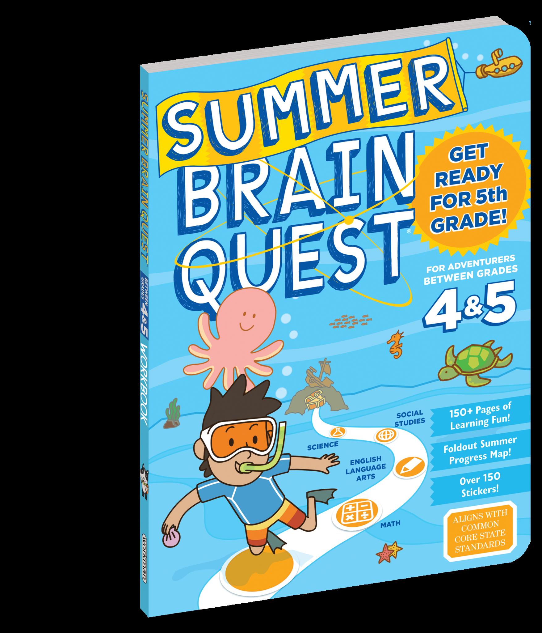 Summer Brain Quest Grades 4 & 5