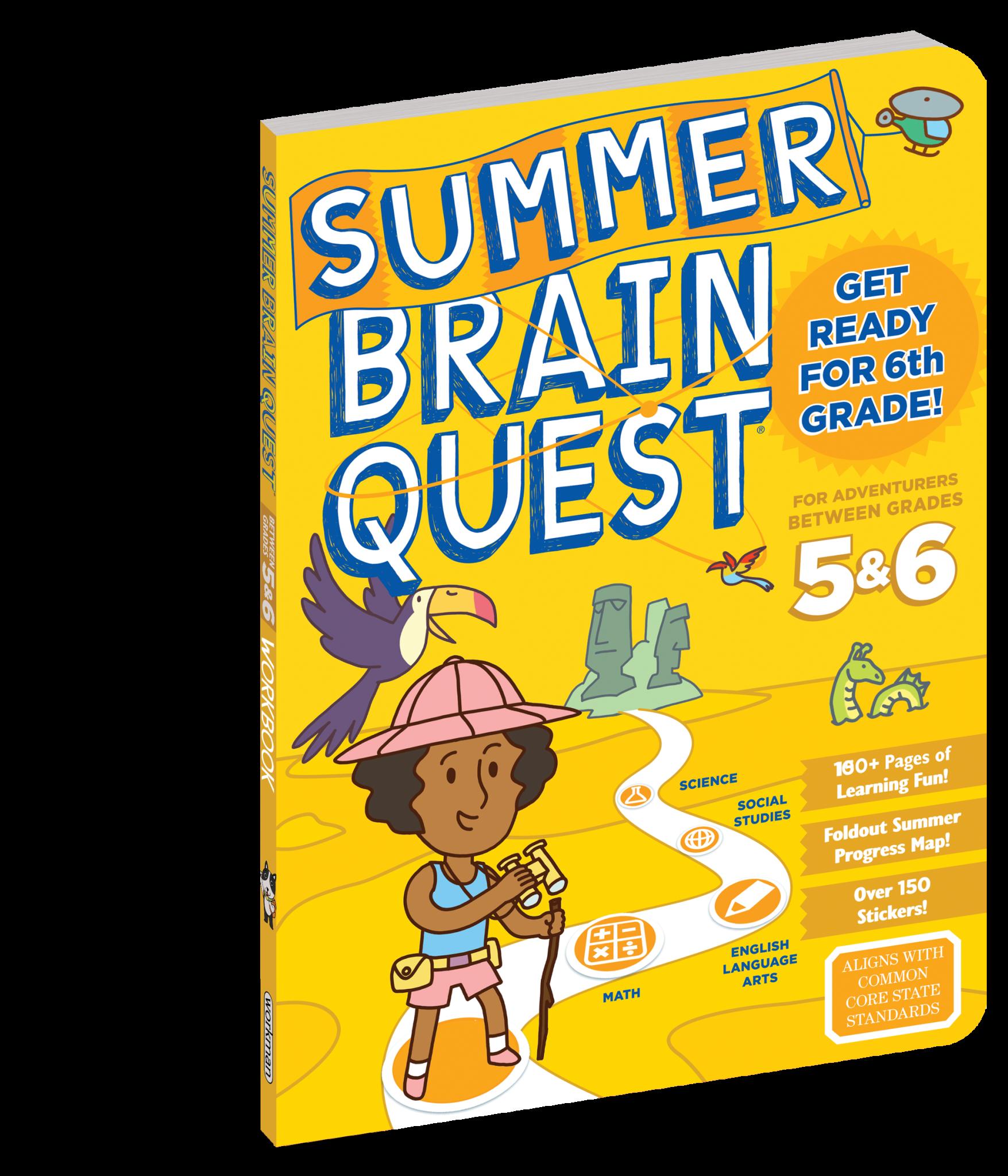 Summer Brain Quest Grades 5 & 6