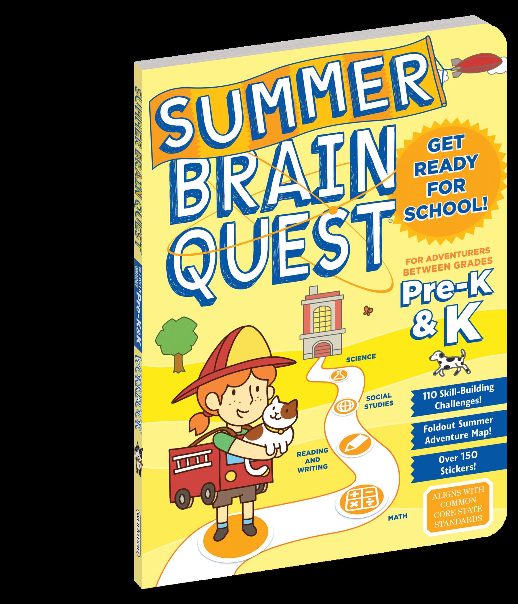 Summer Brain Quest Grade Pre-K & K