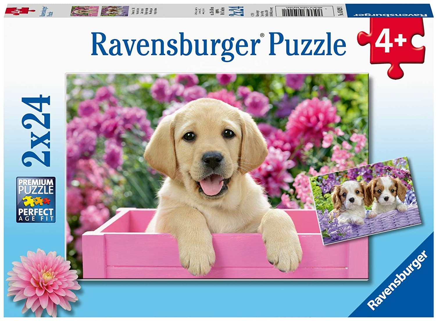 Me & My Pal 2 x 24-piece Puzzles by Ravensburger