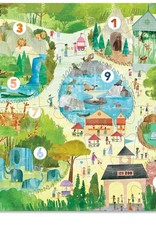123 Zoo 24-pc Puzzle by Crocodile Creek