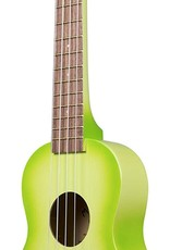 Makala Dolphin Green Apple Burst Soprano Ukulele by Kala Music