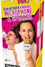 Wireless Express Inc. Sing-along Pro Gold Microphone by Wireless Express