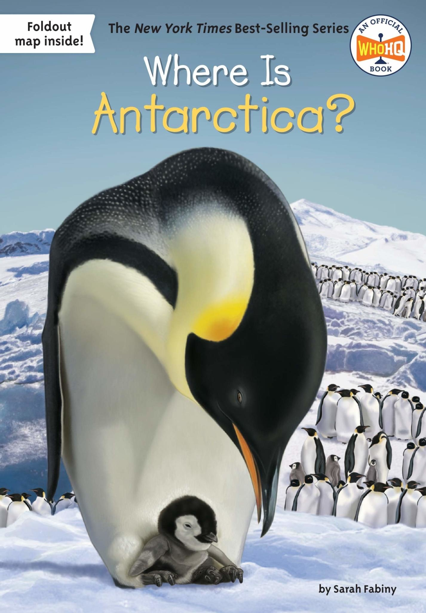 Where Is Antarctica? Paperback Book
