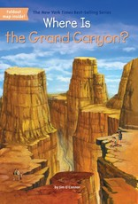 Who What Where Where Is the Grand Canyon? Paperback Book