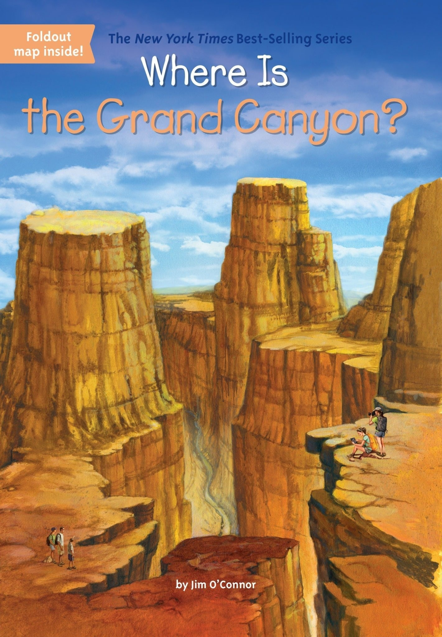 Where Is the Grand Canyon? Paperback Book