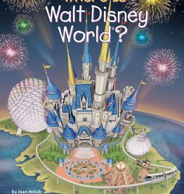 Who What Where Where Is Walt Disney World? Paperback Book
