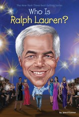 Who What Where Who Is Ralph Lauren? Paperback Book