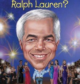 Who Is Ralph Lauren? Paperback Book
