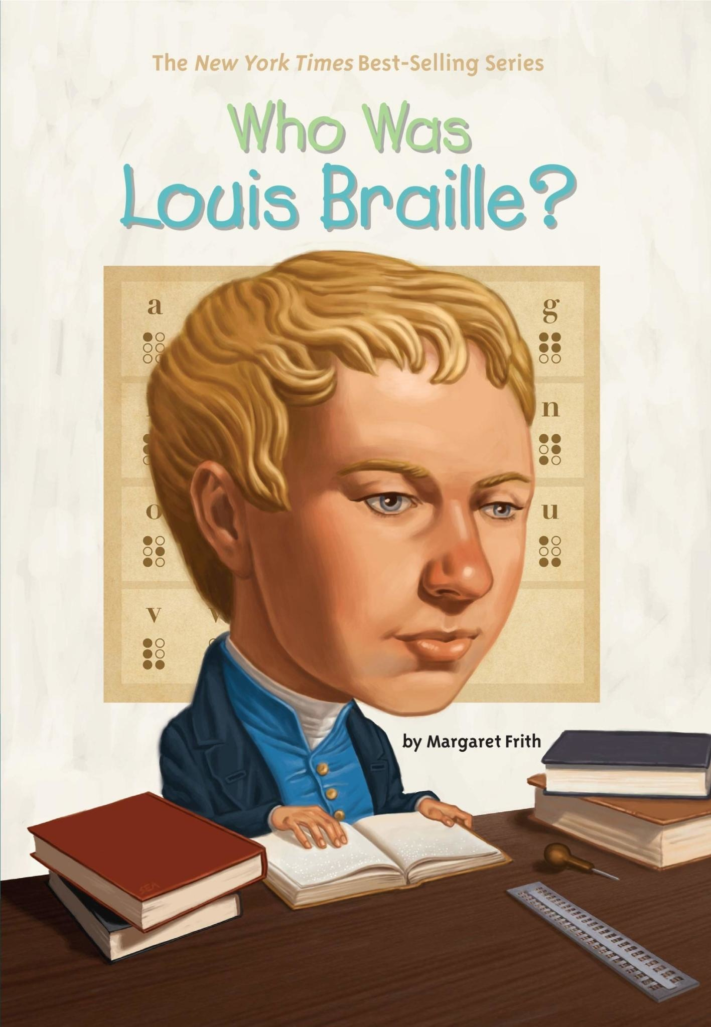 Who Was Louis Braille? Paperback Book