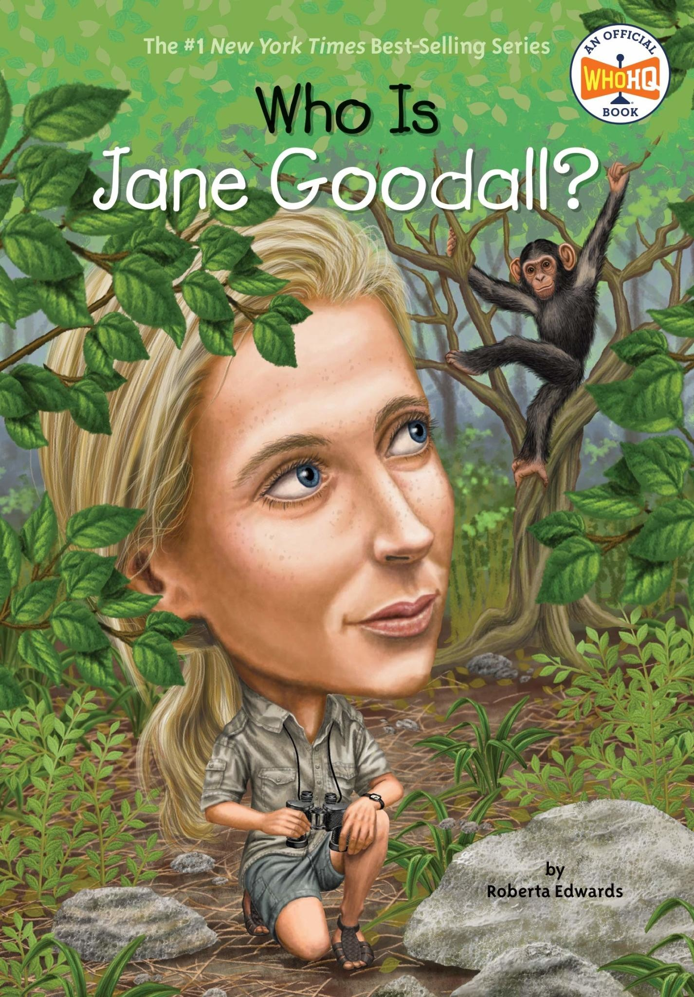 Who What Where Who Is Jane Goodall? Paperback Book