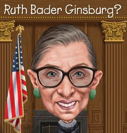 Who What Where Who Is Ruth Bader Ginsburg? Paperback Book