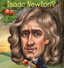 Who Was Isaac Newton? Paperback Book