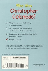 Who What Where Who Was Christopher Columbus? Paperback Book