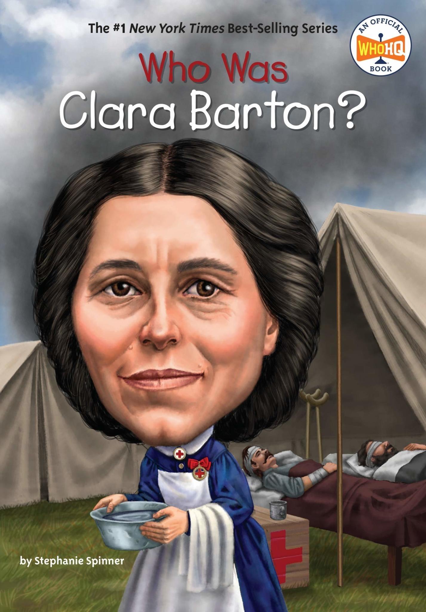 Who Was Clara Barton? Paperback Book