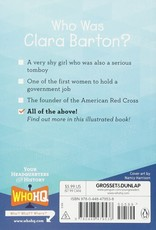 Who What Where Who Was Clara Barton? Paperback Book