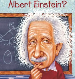 Who What Where Who Was Albert Einstein? Paperback Book