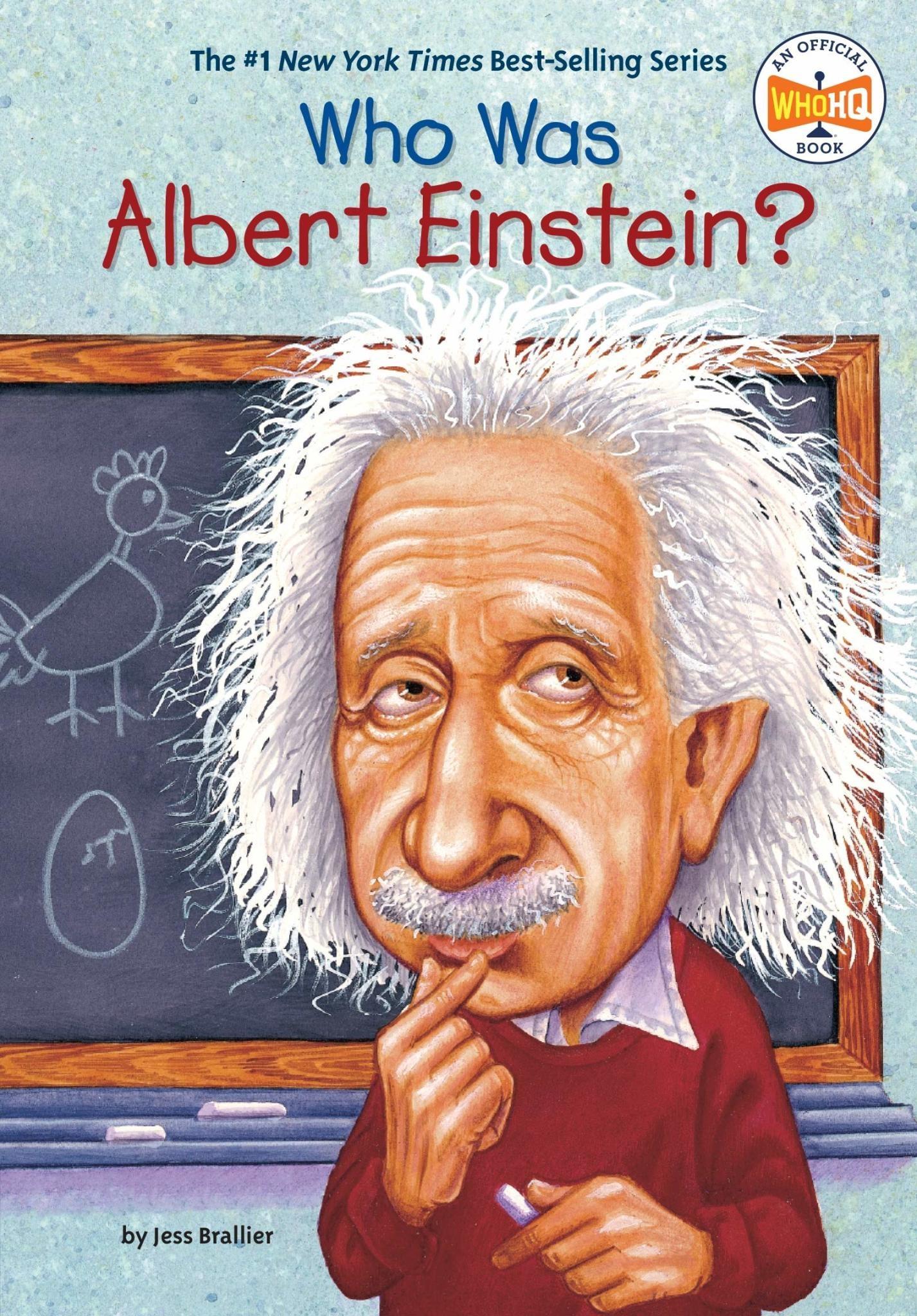 Who Was Albert Einstein? Paperback Bookho Was Albert Einstein